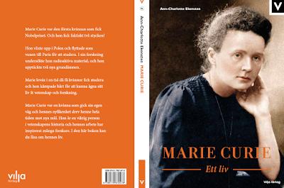 Marie Curie, en förstaplats och författarbesök via länk