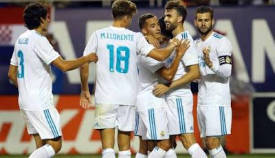 Kembali Pecundangi Barca, Real Madrid Juara Piala Super