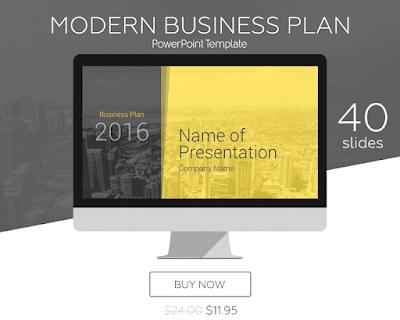 Modern Business Plan PowerPoint Template - PresentationDeck.com