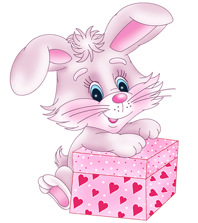 Bunny with a Gift