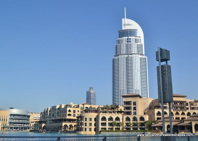 View from Burj Park