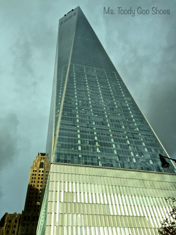 One World Trade Center (aka Freedom Tower), New York City --- Ms. Toody Goo Shoes