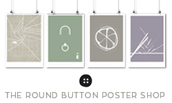 The Round Button Poster Shop