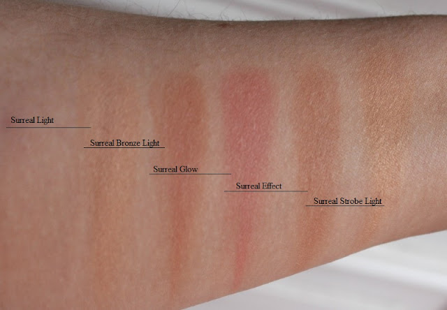 Hourglass Ambient Lighting Edit Surreal Light Palette
