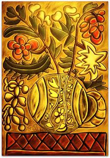Construção Floral II [Francisco Brennand] (1981) Óleo sobre Tela
