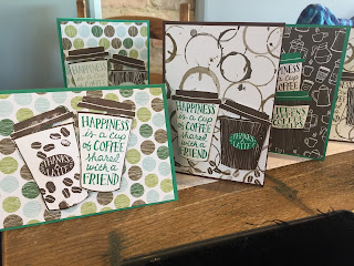 Coffee Cafe cards at Coffee and Cards, coffee and cards