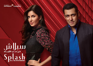 Katrina Kaif with Salman Khan for Splash Autumn Winter Wear 2016