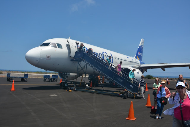 Baltra Airport Galapagos