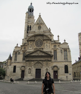 Iglesia St. Etienne du Mont, París