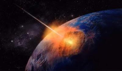 impacto de un asteroide contra la Tierra