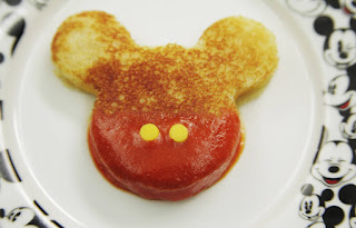 Disney Snacks: Mickey Mouse Grilled Cheese