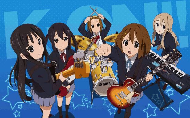 K-On - Daftar Anime Mirip Hyouka