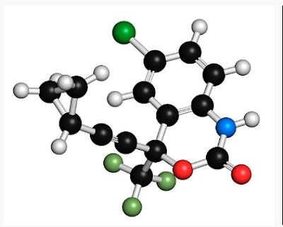 Efavirenz 3D structure