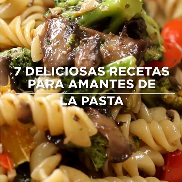 7 Deliciosas Recetas Para Amantes De La Pasta A Gusto Con