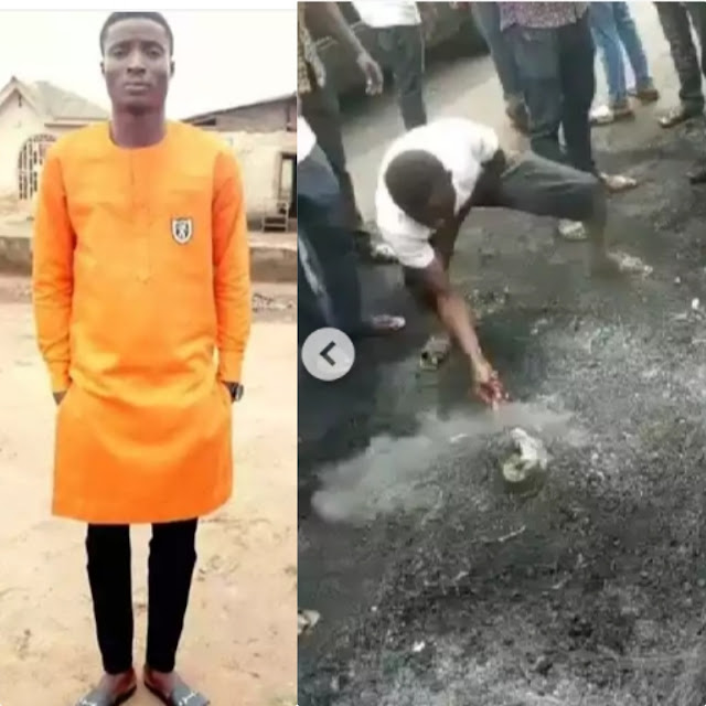 Friends demand justice as man falsely accused of being a thief, gets burnt to death in Lagos