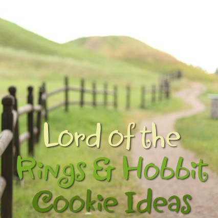 LOTR Lord of the Rings and Hobbit Cookie Ideas and Inspiration