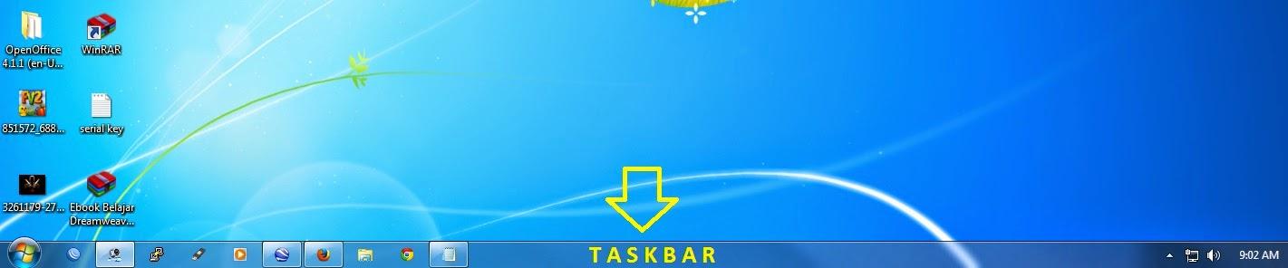 gambar taskbar