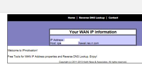how to find wan mac address