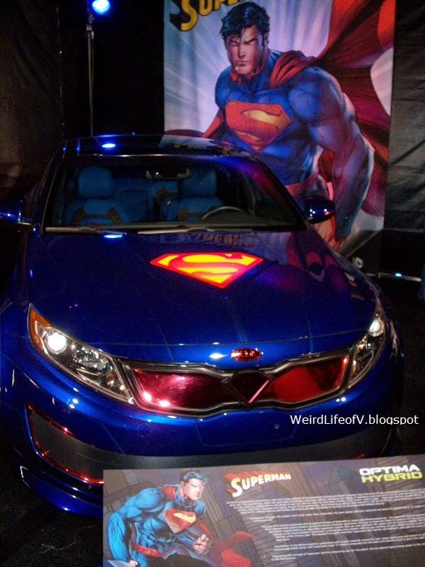 Superman car
