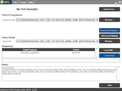 Cara Flash Lenovo VIBE C A2020a40 Menggunakan QFIL