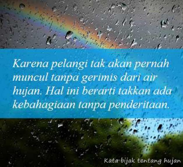Kata Bijak Tentang Hujan Menurut Islam