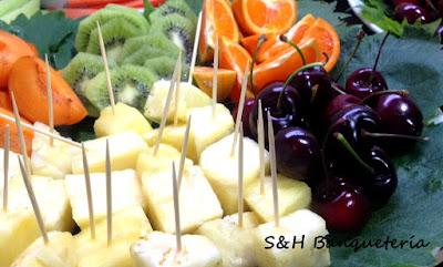 Marie Gourmet - Evento - Tabla de frutas