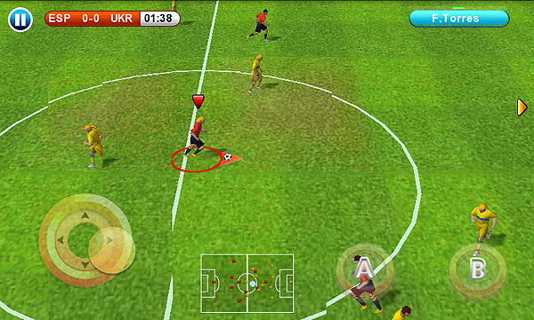Real Football 2011 Apk Data - Free Download Android Game