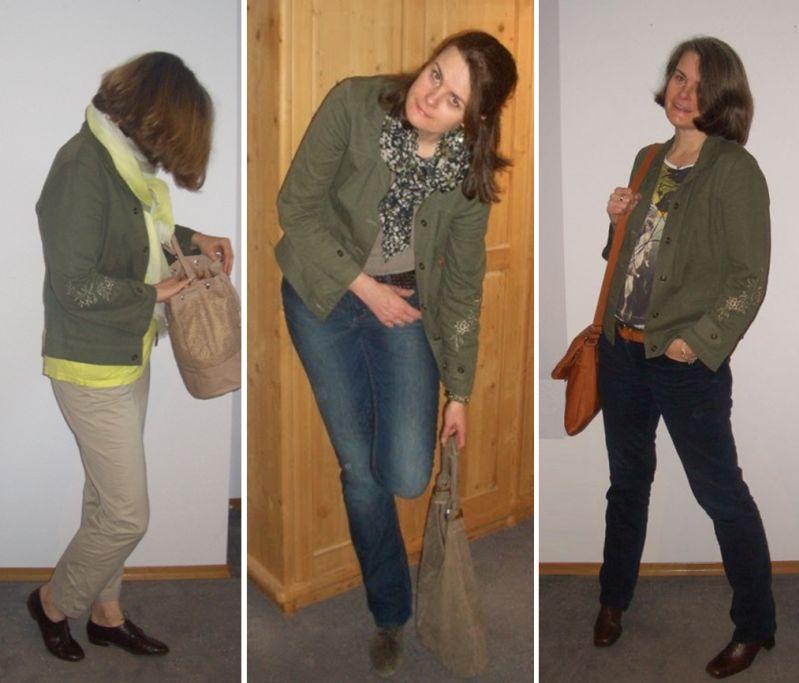 Blazer in Olive - Styling Idee mit der Trendfarbe