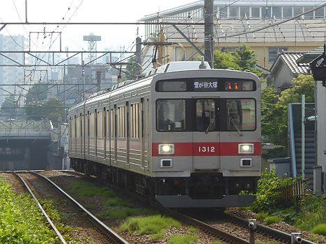 東京急行電鉄池上線 雪が谷大塚行き3 1000系LED車(2015.12改造)