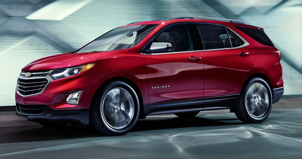 New 1.5L Turbo 2018 Chevrolet Equinox Priced From $24,475 In The US, $ ...