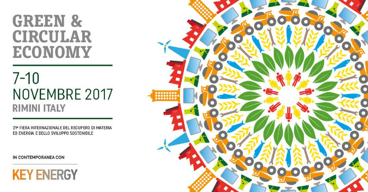 Mancano poco più di 2 settimane a Ecomondo 2017 che si terrà a Rimini dal 7  al 10 novembre a6d49ce2f1e