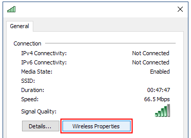 Wireless Properties