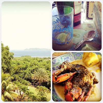 Pentecôte ti-punch calalou crabes fruit-à-pain