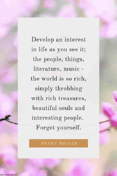 henry miller positive quote on life