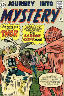 Journey into Mystery #90, Thor and the Carbon Copy Man