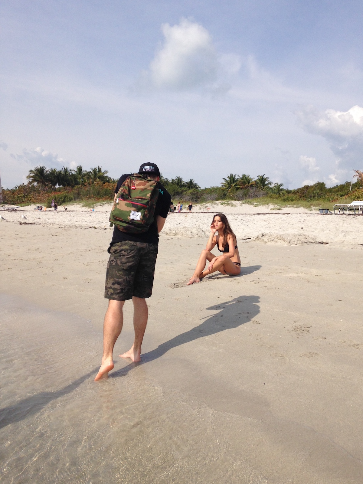 Gabe Media at the 2016 photoshoot photoshoot in Key Biscayne, Florida