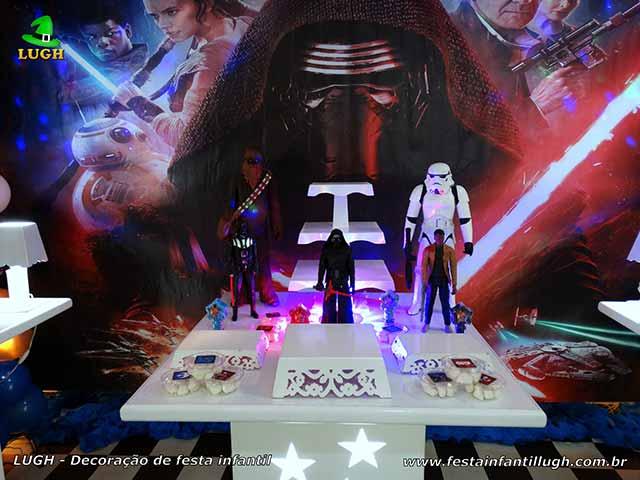 Mesa temática Star Wars - Decoração provençal para festa infantil
