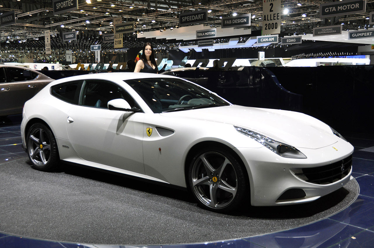 The Ferrari Ff Meaning Four For Seats And Wheel Drive Is A Grand Tourer Revealed By On January 21 2017
