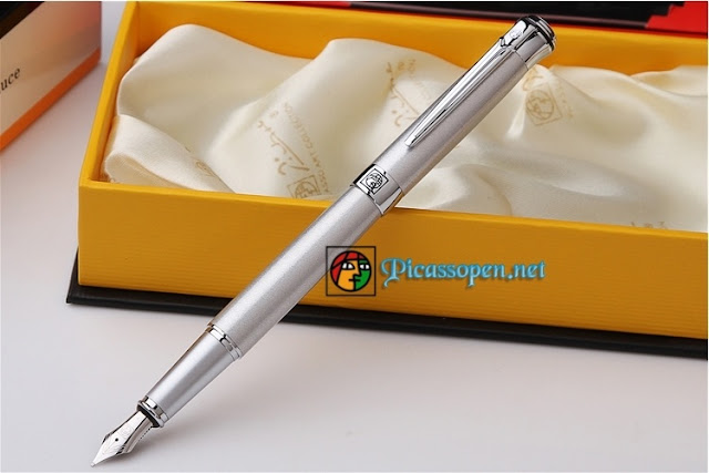 Bút máy Picasso Pimio 903 màu bạc