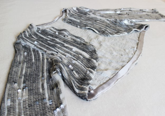 Pullu Kumaştan Abiye Bolero Dikimi - Resimli Anlatım 10