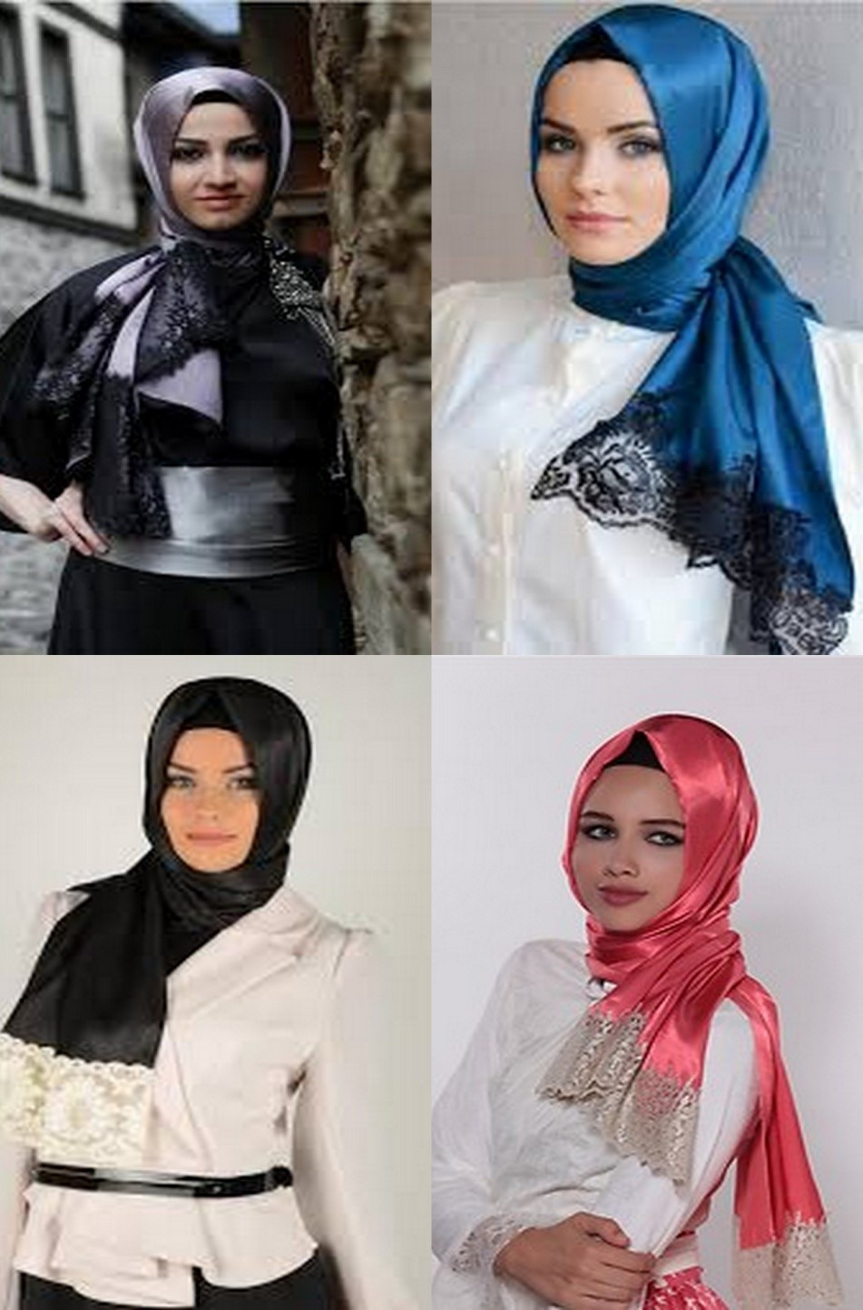 koleksi tren model jilbab terbaru 2013 ~ Mata Iwoi