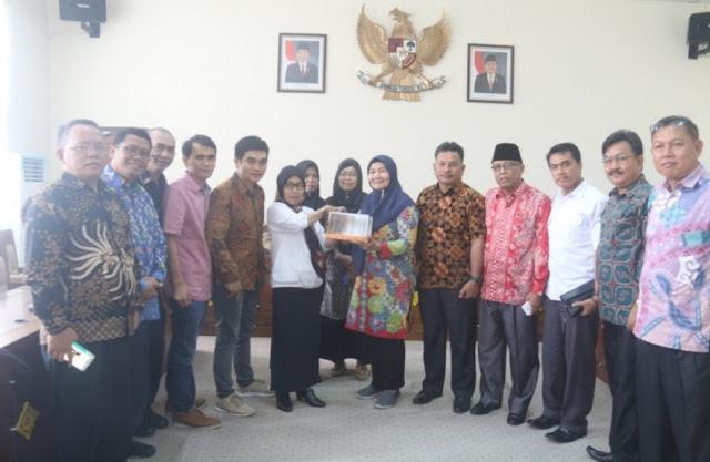 Pansus III DPRD Kabupaten Rejang Lebong Kunker Ke DPRD OI