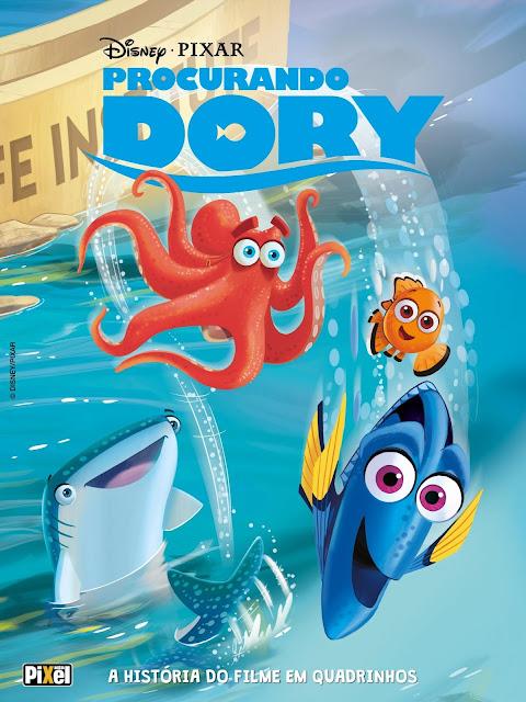 Procurando Dory A História do Filme em Quadrinhos Disney