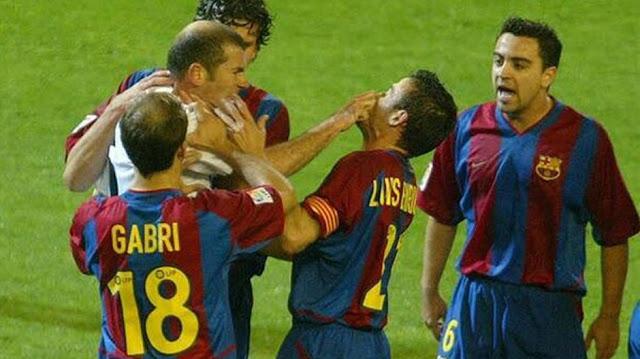 Confira o El clásico em que Luis Enrique e Zidane protagonizarão cenas lamentáveis.