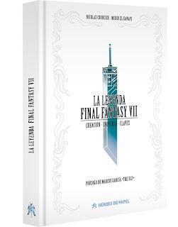 La leyenda - Final Fantasy VII escrito por Nicolas Courcier y Mehdi El Kanafi