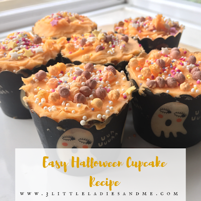 Try our easy Halloween Cupcake Recipe, perfect for baking with children