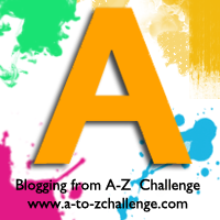 A is for Amber #AtoZChallenge