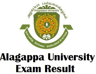Alagappa University Karaikudi Results 2017