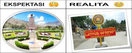 Tidak ada hal apapun yang dapat mengalahkan perasaan gembira Perjalanan Dunia Wisata Impian : Antara Ekspektasi vs Realita