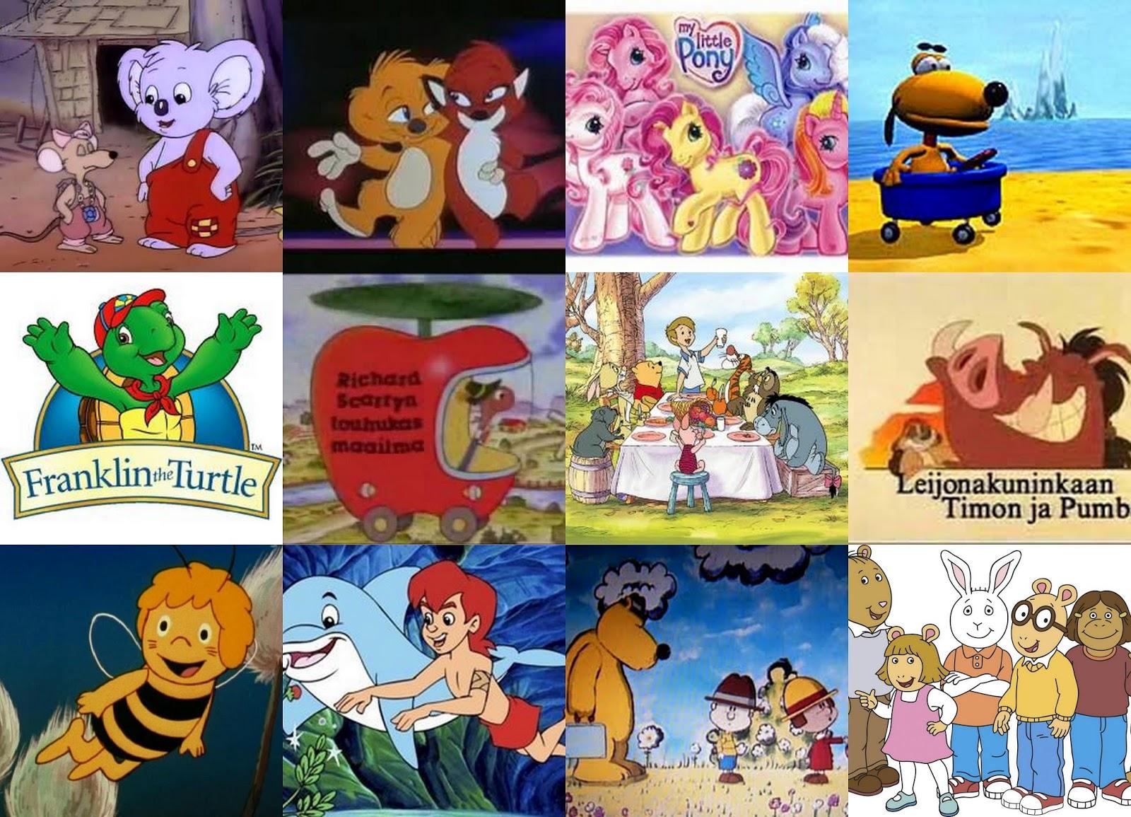Lastenohjelmat 90-Luvulla